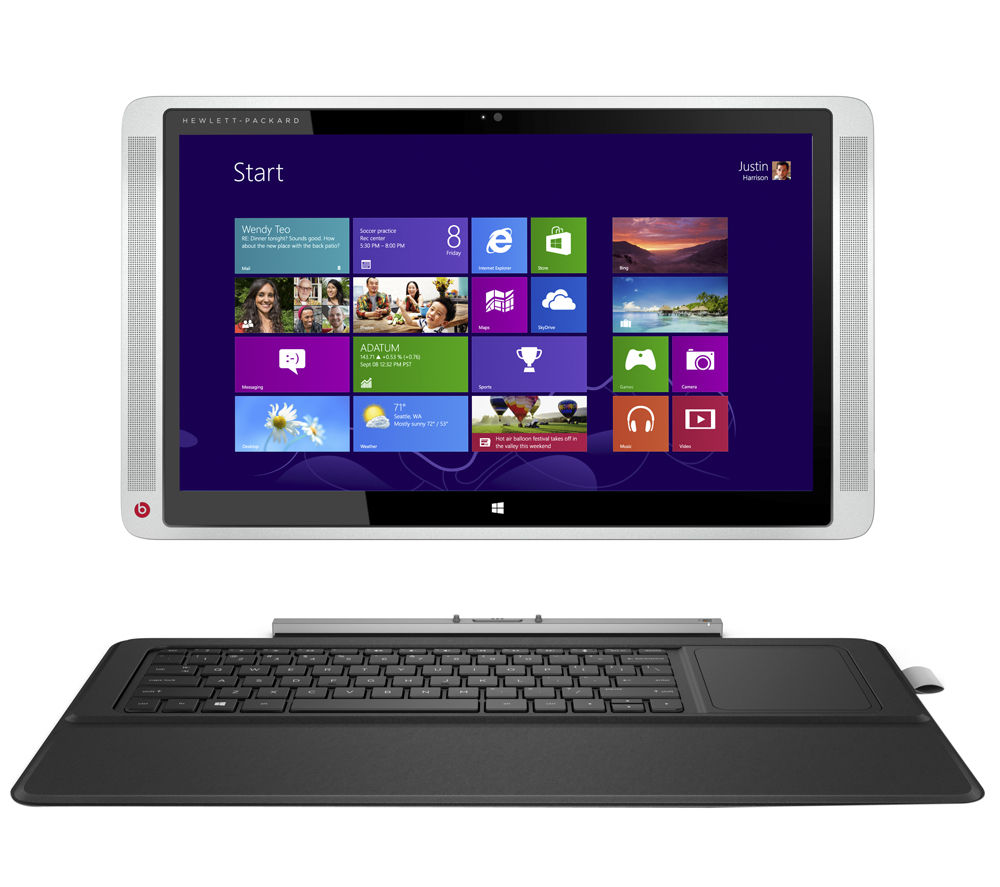 buy hp envy x2 15 c050na refurbished 15 6 2 in 1 silver free delivery currys. Black Bedroom Furniture Sets. Home Design Ideas