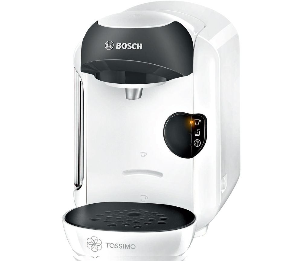 buy tassimo by bosch vivy tas1254gb hot drinks machine white free delivery currys. Black Bedroom Furniture Sets. Home Design Ideas
