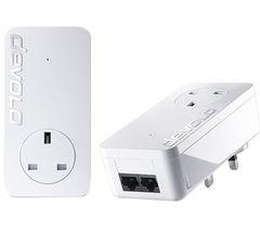 DEVOLO dLAN 550 duo+ Powerline Adapter Kit - Twin Pack