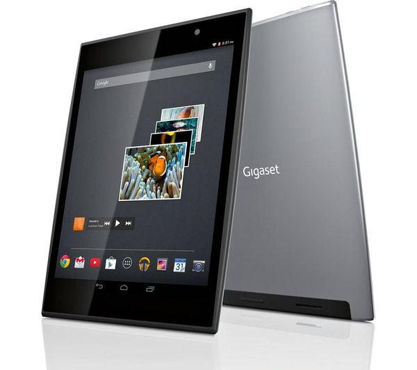 gigaset qv830 8 tablet 8 gb silver. Black Bedroom Furniture Sets. Home Design Ideas