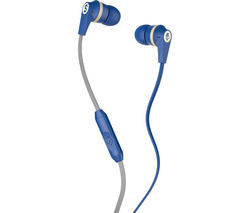 SKULLCANDY Ink'd 2.0 Headphones - Royal Blue, Cream & Gold