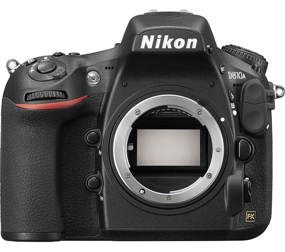 NIKON D810A DSLR Camera - Black, Body Only