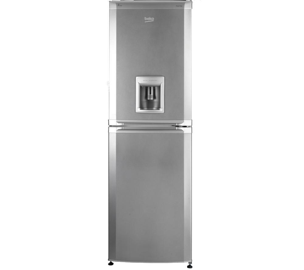 BEKO CFD5834APS Fridge Freezer - Silver