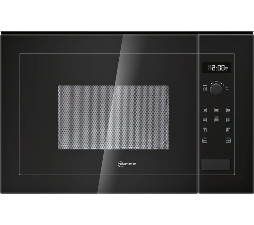 NEFF H11WE60S0G Built-in Solo Microwave - Black
