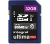 INTEGRAL UltimaPro Class 10 SDHC Memory Card - 32 GB