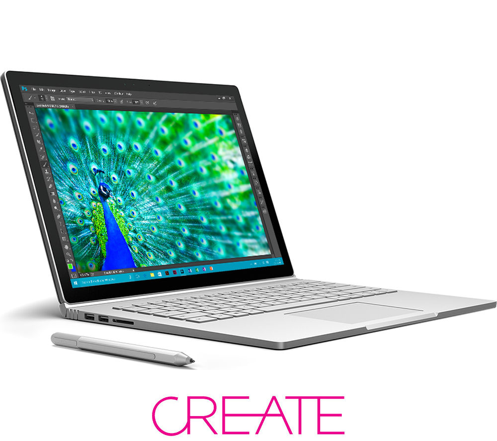 MICROSOFT Surface Book - Silver