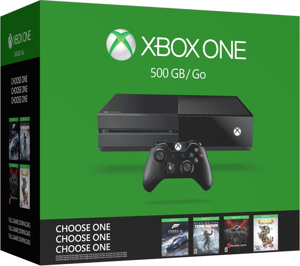 MICROSOFT Xbox One - 500 GB Name Your Game Bundle
