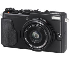 FUJIFILM FinePix X70 High Performance Compact Camera - Black