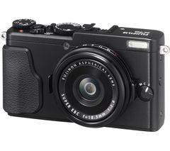 FUJIFILM FinePix X70 High Performance Compact Camera - Black