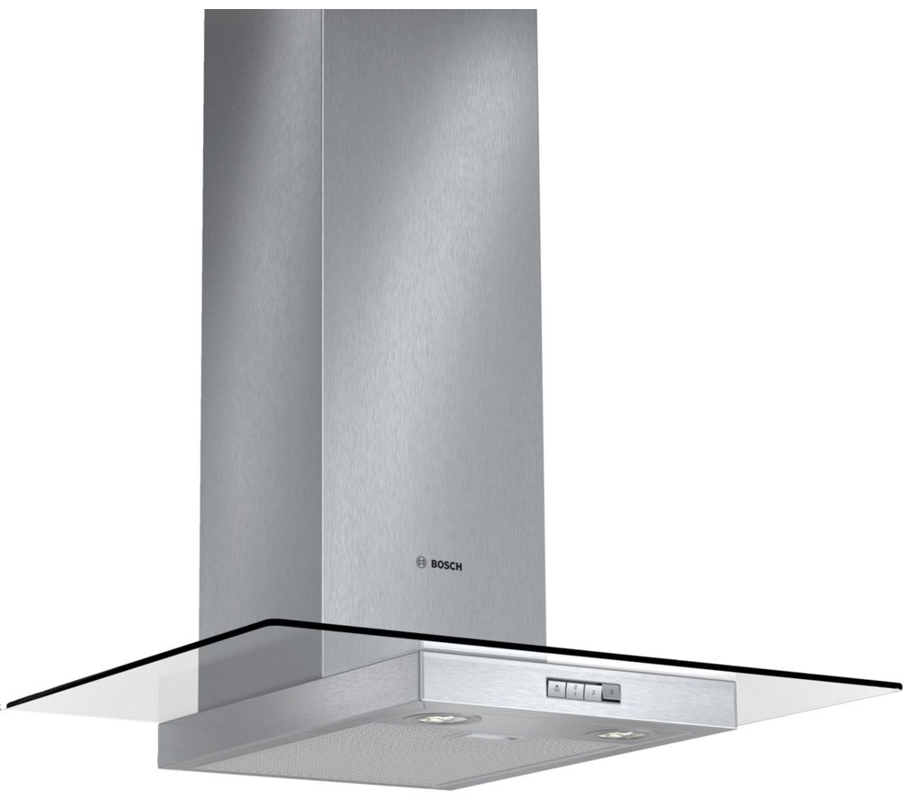 BOSCH  Serie 2 Classixx DWA074W50B Chimney Cooker Hood  Stainless Steel Stainless Steel