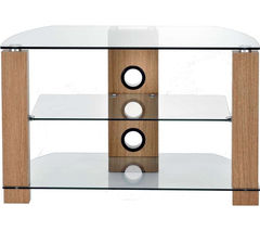 TTAP Vision 800 TV Stand - Walnut & Light Oak