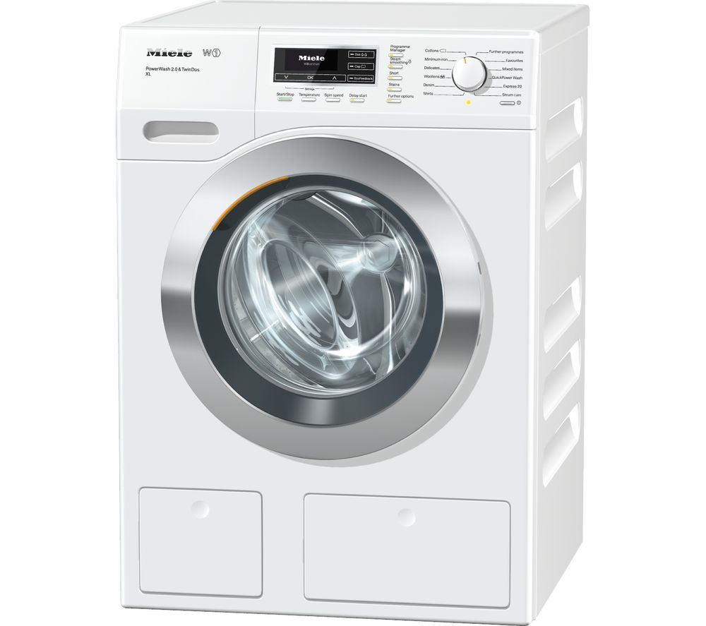 MIELE  WKR771 Washing Machine - White, White