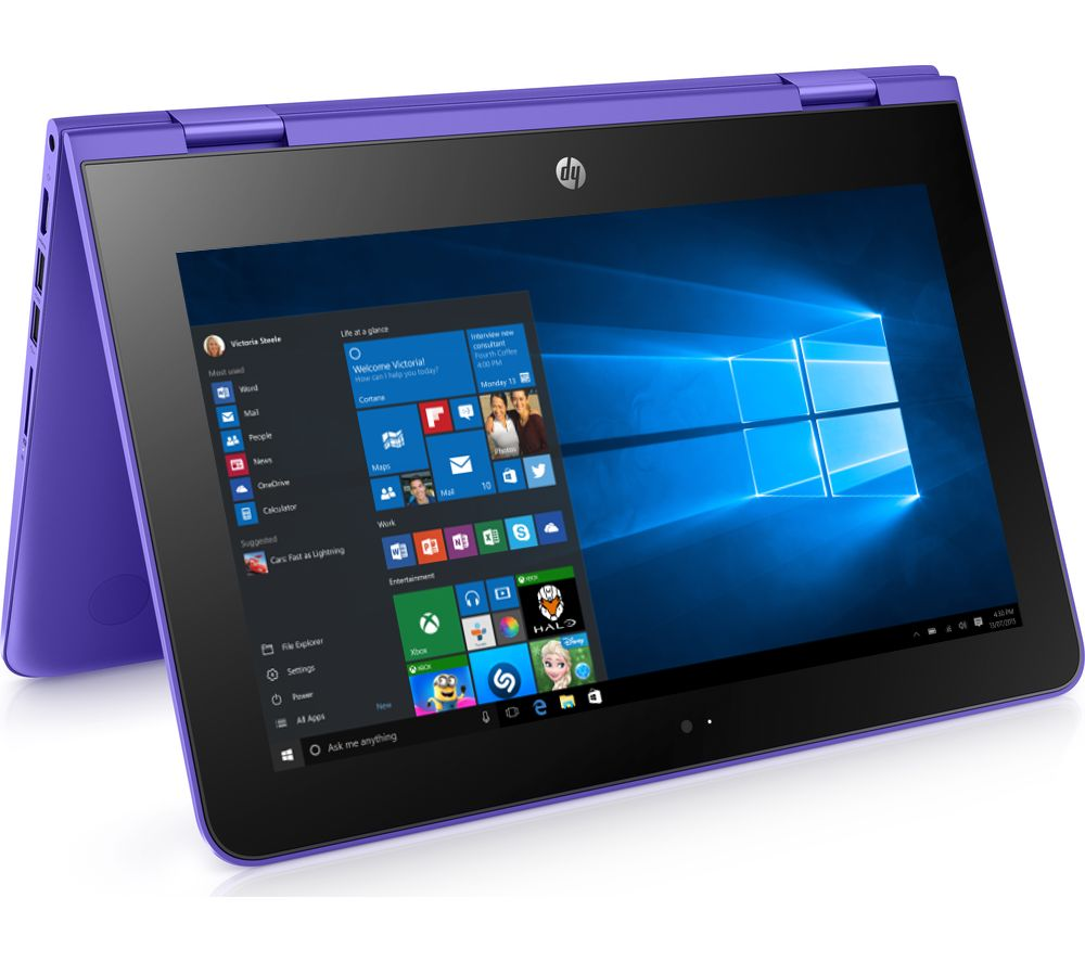 "HP Stream x360 11.6"" 2 in 1 - Violet Purple"