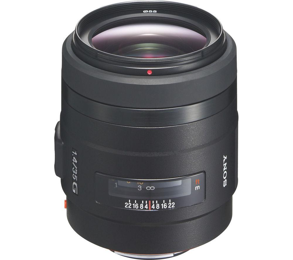 SONY 35 mm f/1.4 G Standard Prime Lens