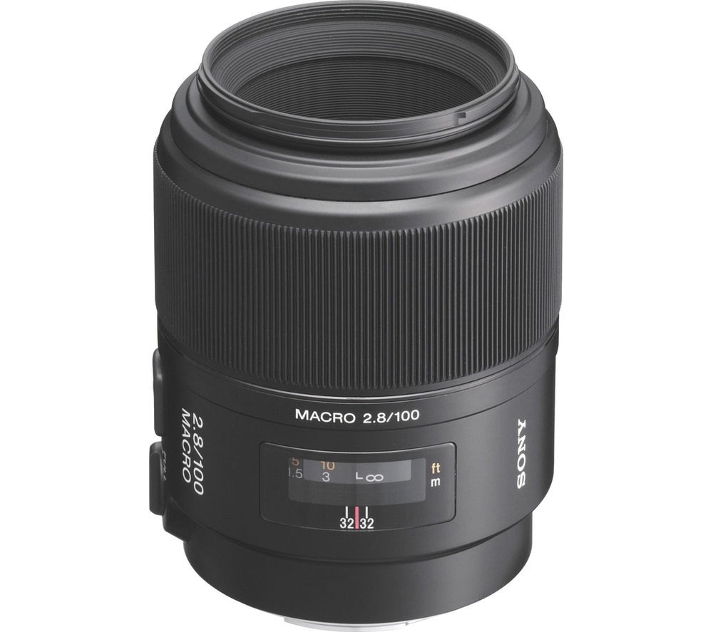 Sony 100 mm f/2.8 Telephoto Prime Lens