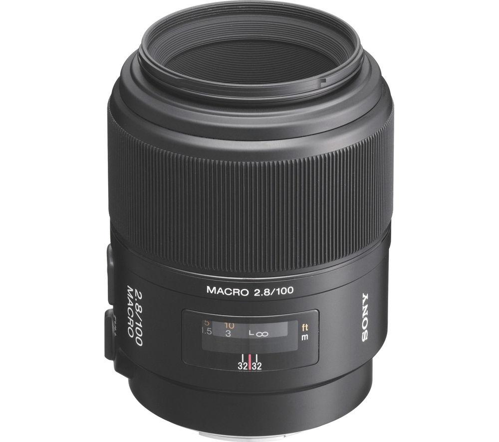 SONY 100 mm f/2.8 Telephoto Prime Lens