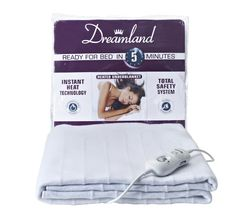 DREAMLAND Ready For Bed Electric Underblanket - Single