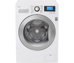 LG FH495BDN2 Smart Washing Machine - White
