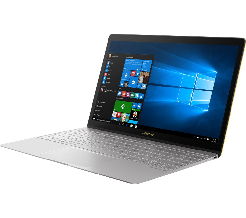 """ASUS ZenBook 3 UX390 12.5"""" Laptop - Grey + Office 365 Home + LiveSafe Unlimited 2017 - 1 year"""