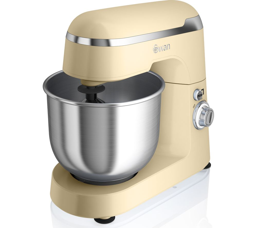 SWAN Retro SP25010CN Stand Mixer - Cream