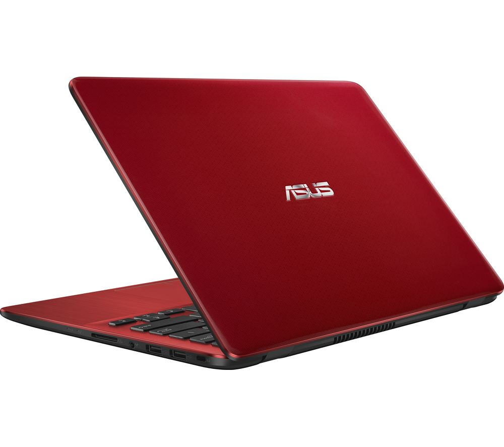 "ASUS VivoBook X405 14"" Laptop - Red, Red"