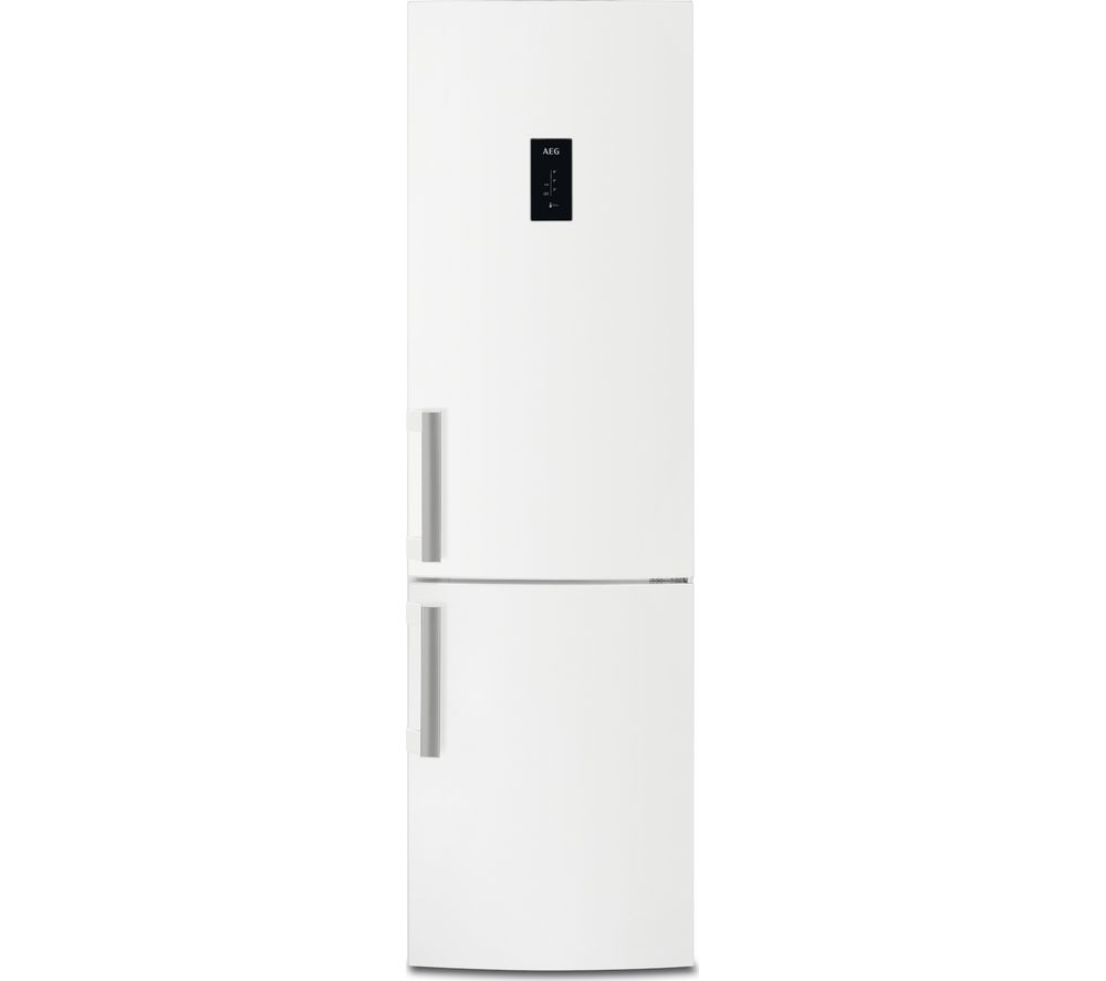 Image of AEG RCB53724MW 60/40 Fridge Freezer - White, White