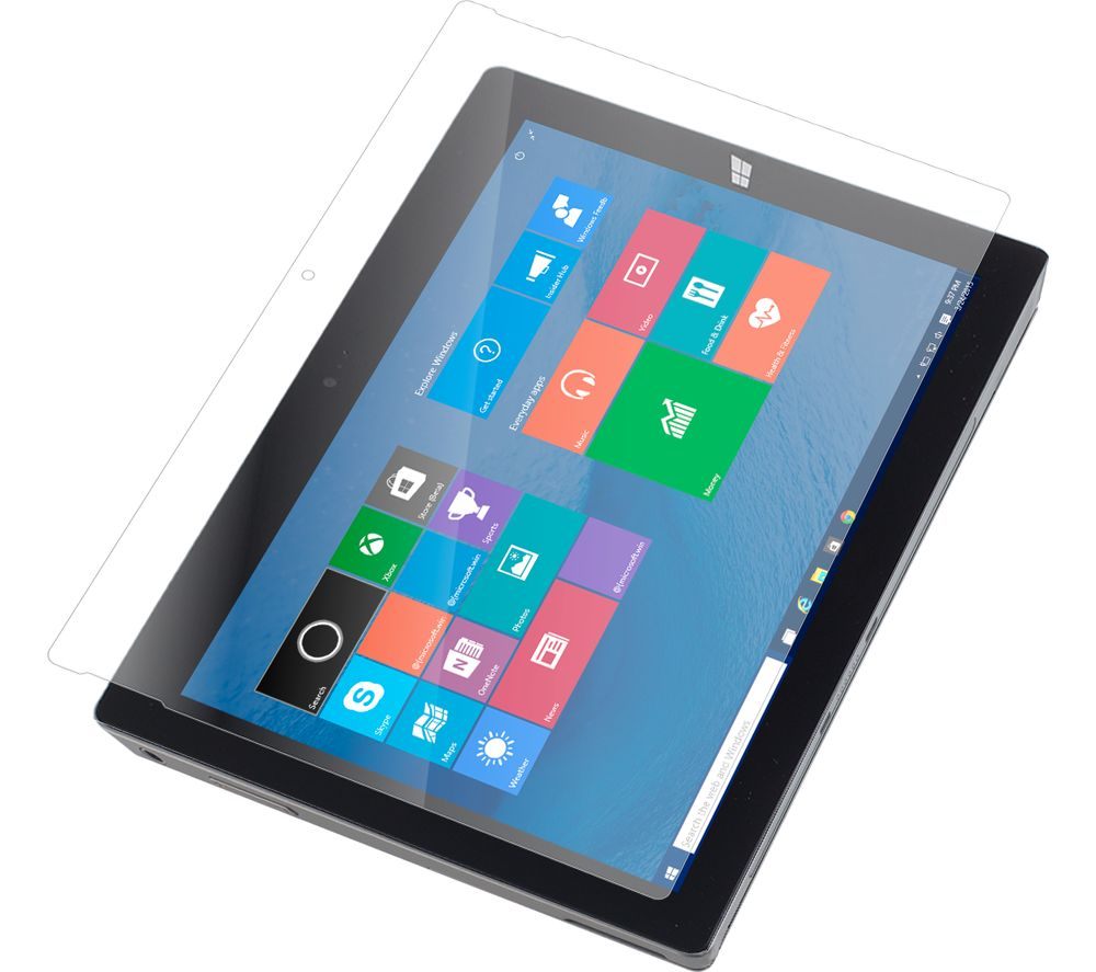 zagg invisibleshield microsoft surface pro 4 screen protector deals pc world. Black Bedroom Furniture Sets. Home Design Ideas