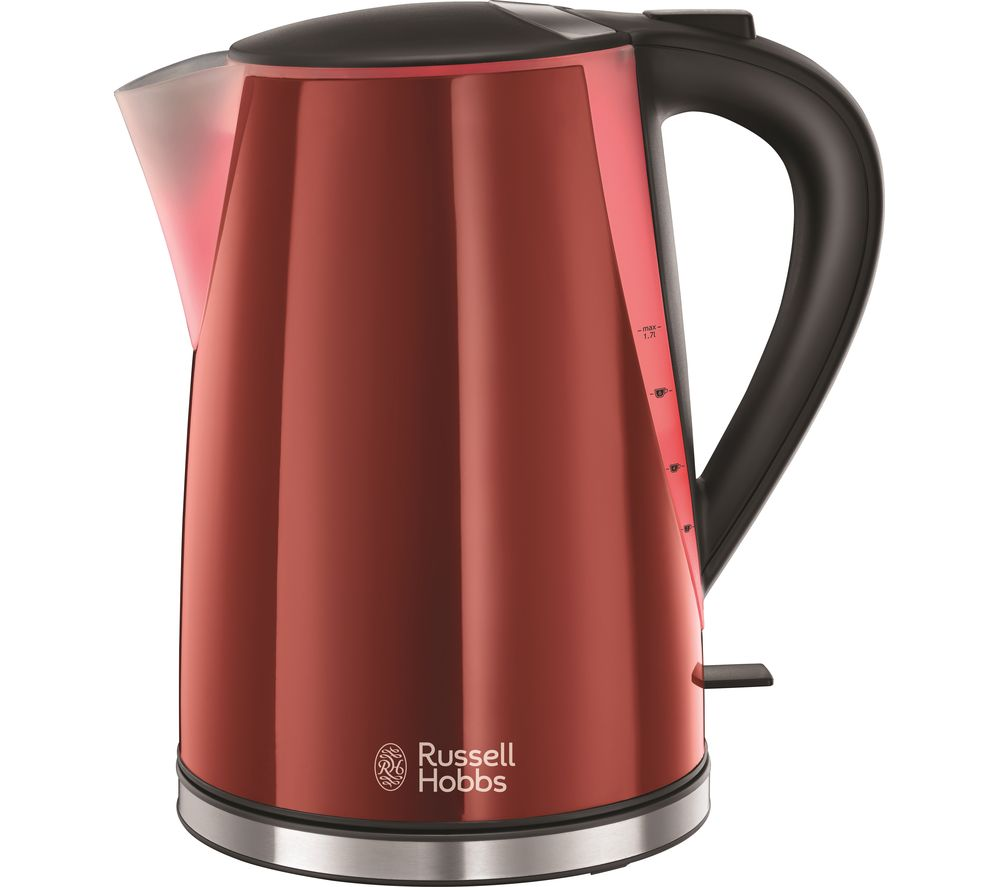 buy russell hobbs mode illuminated 21401 jug kettle red free delivery currys. Black Bedroom Furniture Sets. Home Design Ideas