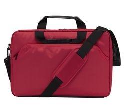 """LOGIK L15SRE11 15.6"""" Laptop Case - Red"""