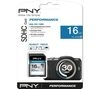 PNY Performance Class 10 SDHC Memory Card - 16 GB
