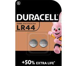 DURACELL A76/KA76/V13GA Electronics Alkaline LR44 Coincell Batteries