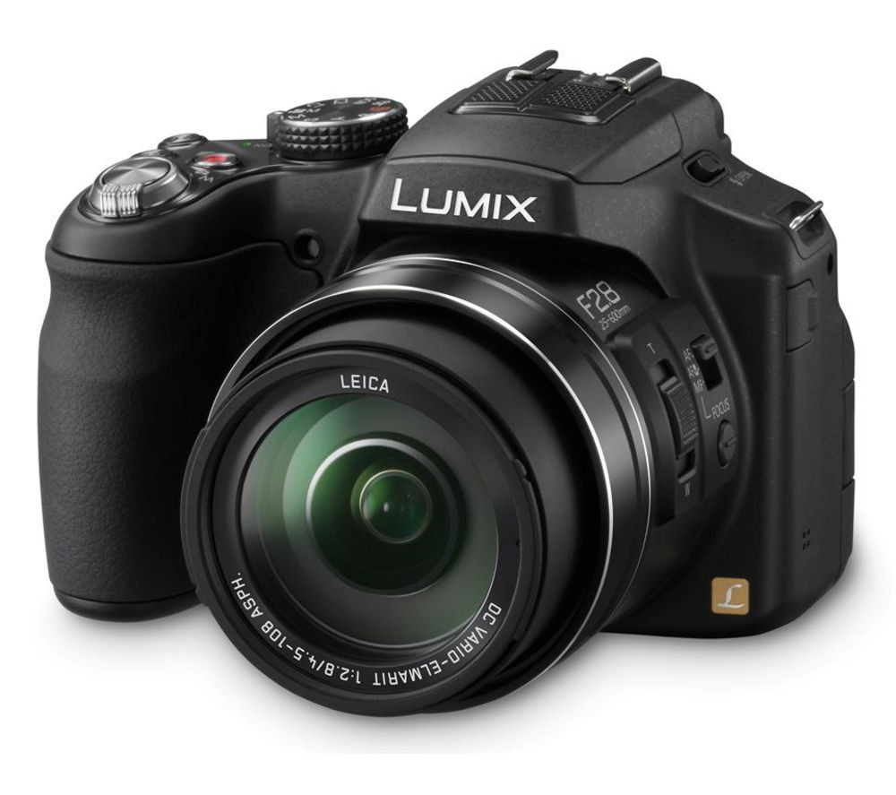 PANASONIC  Lumix DMC-FZ200 Bridge Camera +  Turbo Performance Class 10 SD Memory Card - 32 GB +  Format 100 Compact System Camera Bag - Black