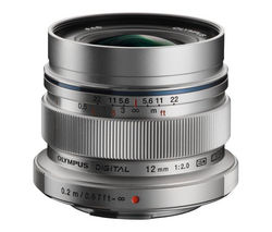 OLYMPUS M.ZUIKO DIGITAL ED 12 mm f/2 IF Wide-Angle Prime Lens