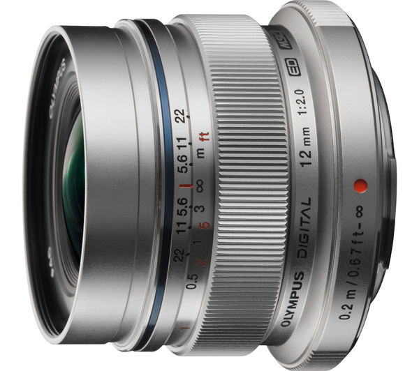Image of OLYMPUS M.ZUIKO DIGITAL ED 12 mm f/2 IF Wide-Angle Prime Lens