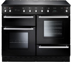 RANGEMASTER Toledo 110 Induction Range Cooker - Black & Chrome