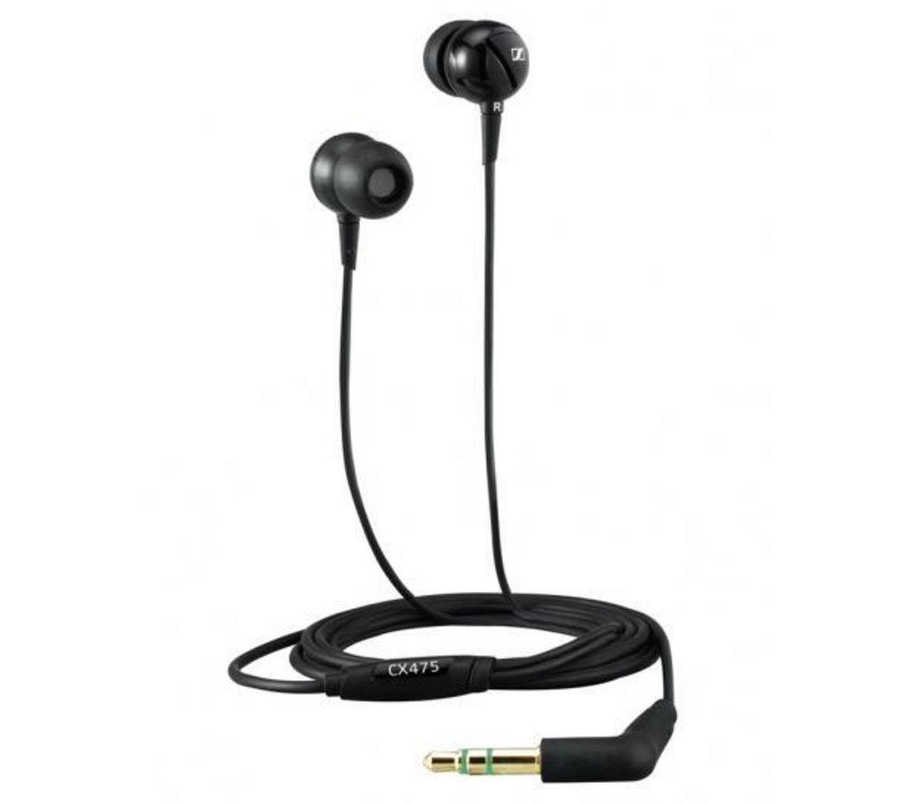 SENNHEISER CX 475 Headphones - Black