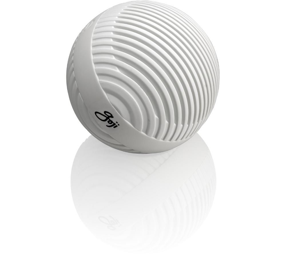 Image of GOJI GBTW14 Portable Wireless Speaker - White, White
