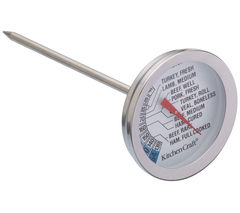 KITCHEN CRAFT Meat Thermometer - Stainless Steel