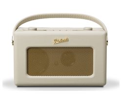 ROBERTS Revival RD60 Portable DAB Radio - Pastel Cream