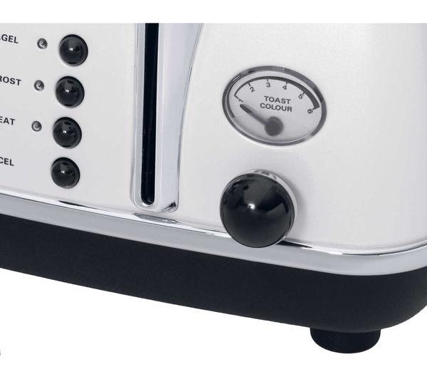 0176141850 - DELONGHI Icona CTOM4003W 4-Slice Toaster ...