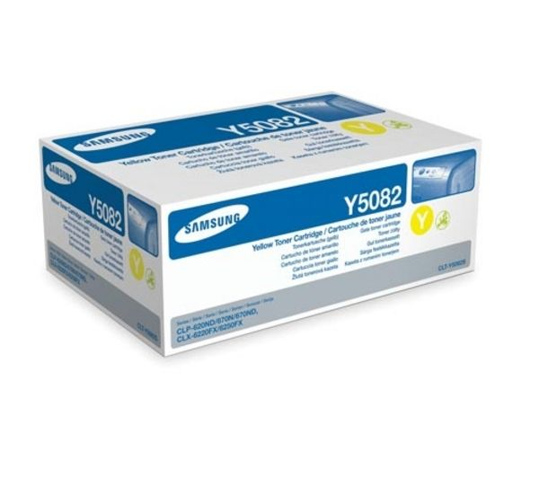 Samsung CLT-Y5082S Yellow Toner Cartridge, Yellow