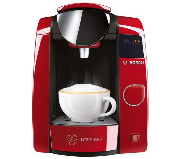 Bosch Coffee Maker Red Cup Light : Bosch Tassimo Joy 2 Drinks Machine Coffee Espresso Maker TAS4503GB Brita RED eBay
