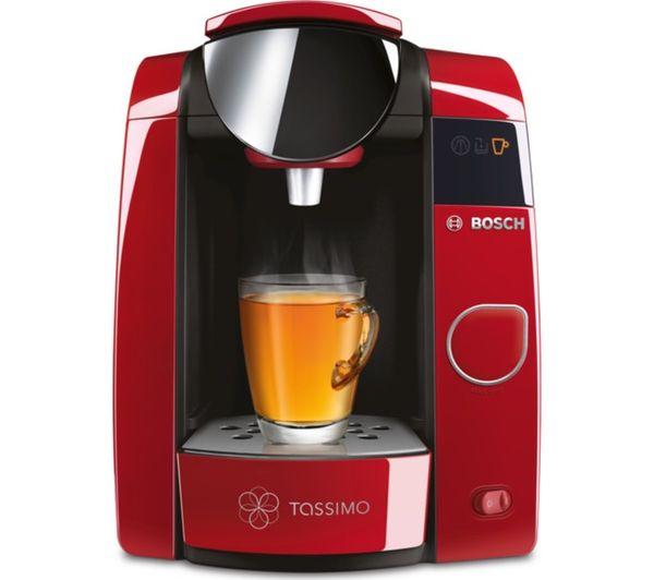Bosch Tassimo Coffee Maker T Discs : Buy TASSIMO by Bosch Joy TAS4503GB Hot Drinks Machine - Red + Costa Latte T Discs - Pack of 8 ...