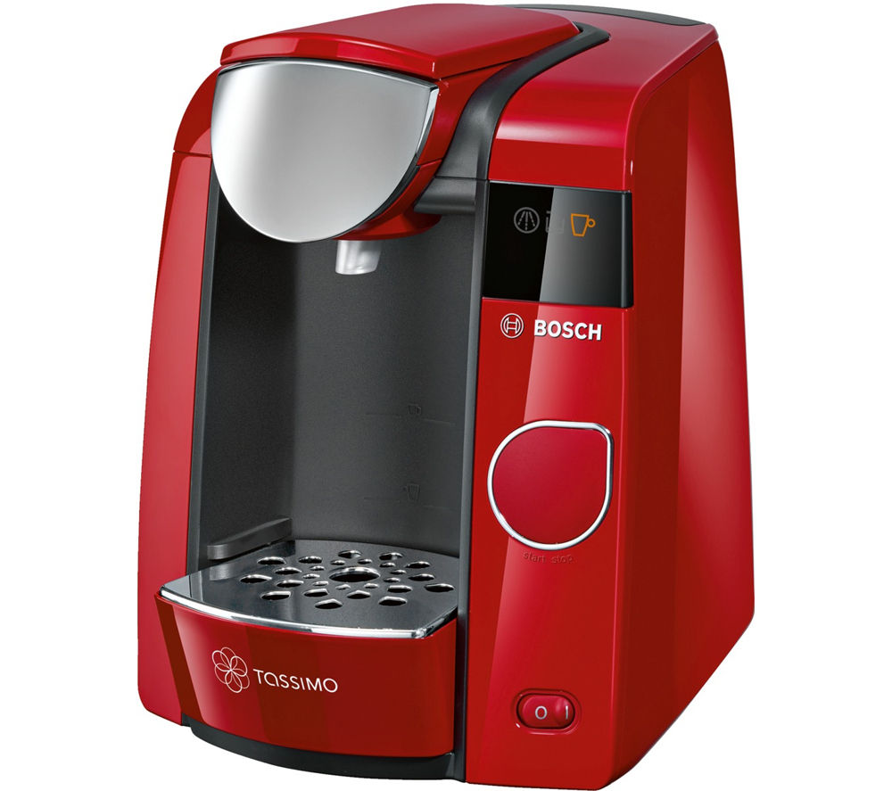 buy tassimo by bosch joy tas4503gb hot drinks machine red free delivery currys. Black Bedroom Furniture Sets. Home Design Ideas