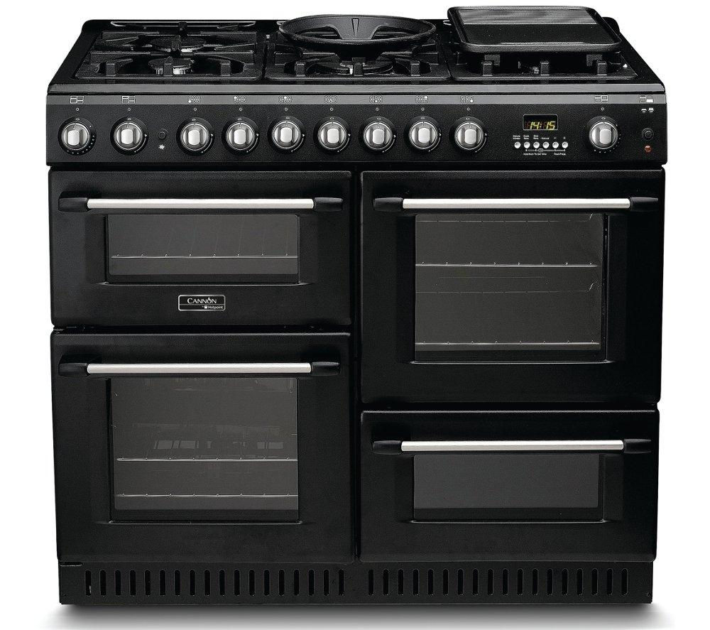 CANNON CH10456GFS Dual Fuel Range Cooker - Anthracite