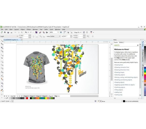 corel draw graphics suite x7 upgrade deals pc world