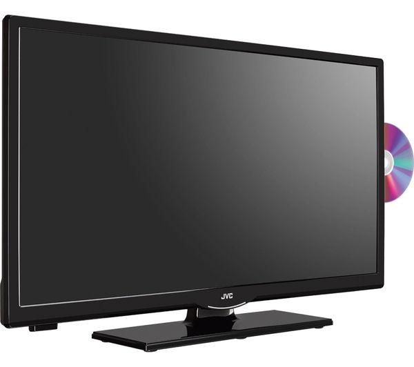 jvc lt 24c655 smart 24 led tv with built in dvd player. Black Bedroom Furniture Sets. Home Design Ideas