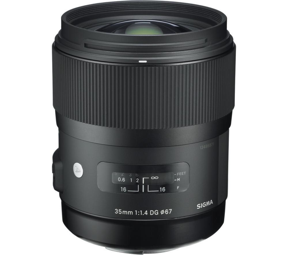 SIGMA 35 mm f/1.4 DG HSM A Standard Prime Lens - for Nikon
