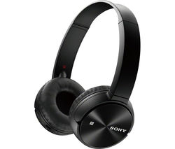 SONY MDR-ZX330BT Wireless Bluetooth Headphones - Black