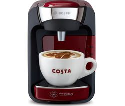 BOSCH SUNY TAS3203GB Coffee Machine - Red